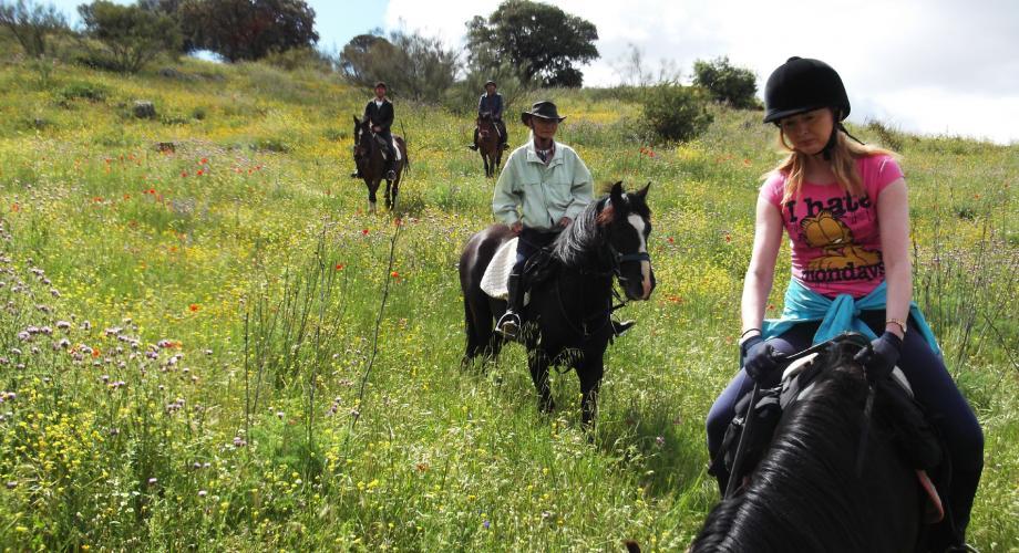 Rutas a Caballo en primavera - Cortijo Las Minas