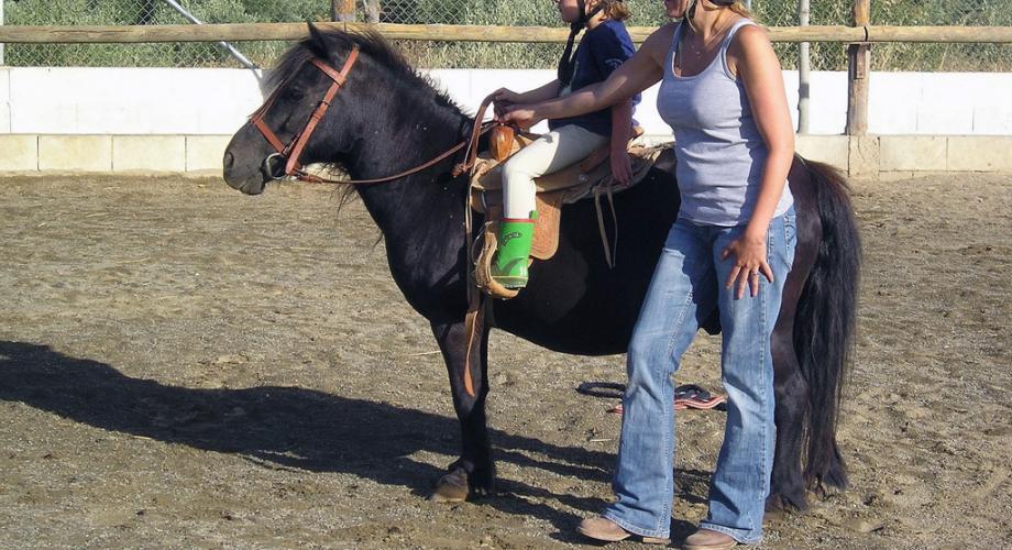 Paseos en Pony para Niños- Cortijo Las Minas